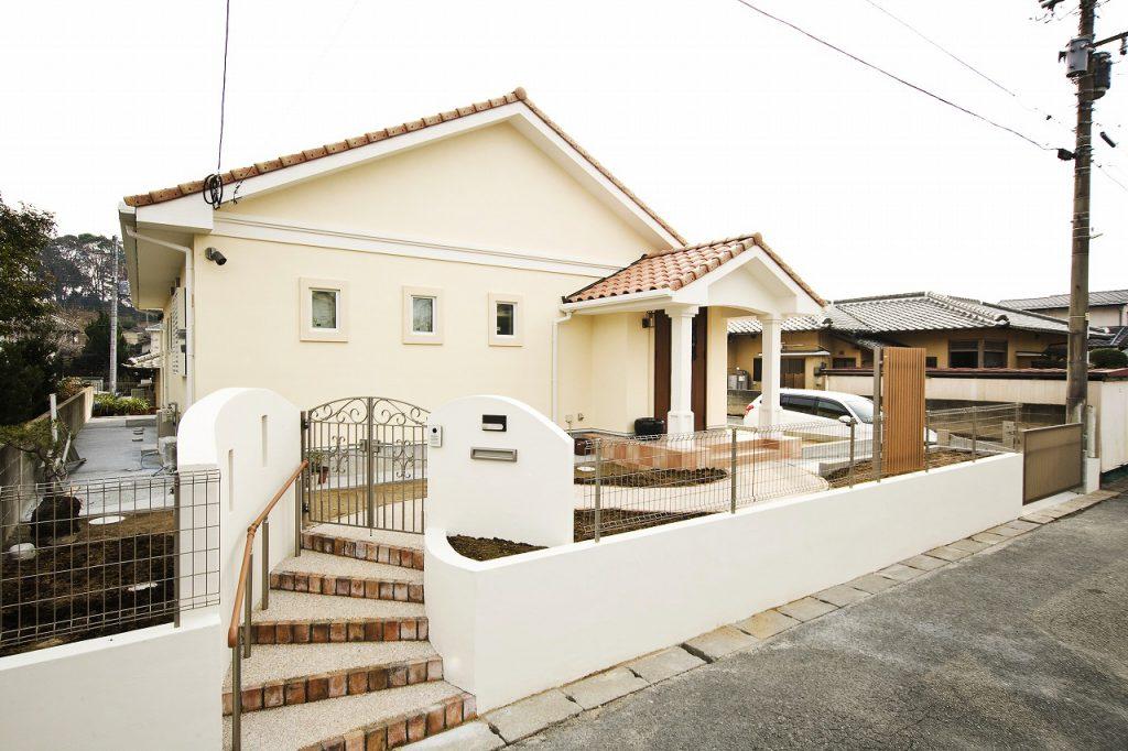プロヴァンス風の家