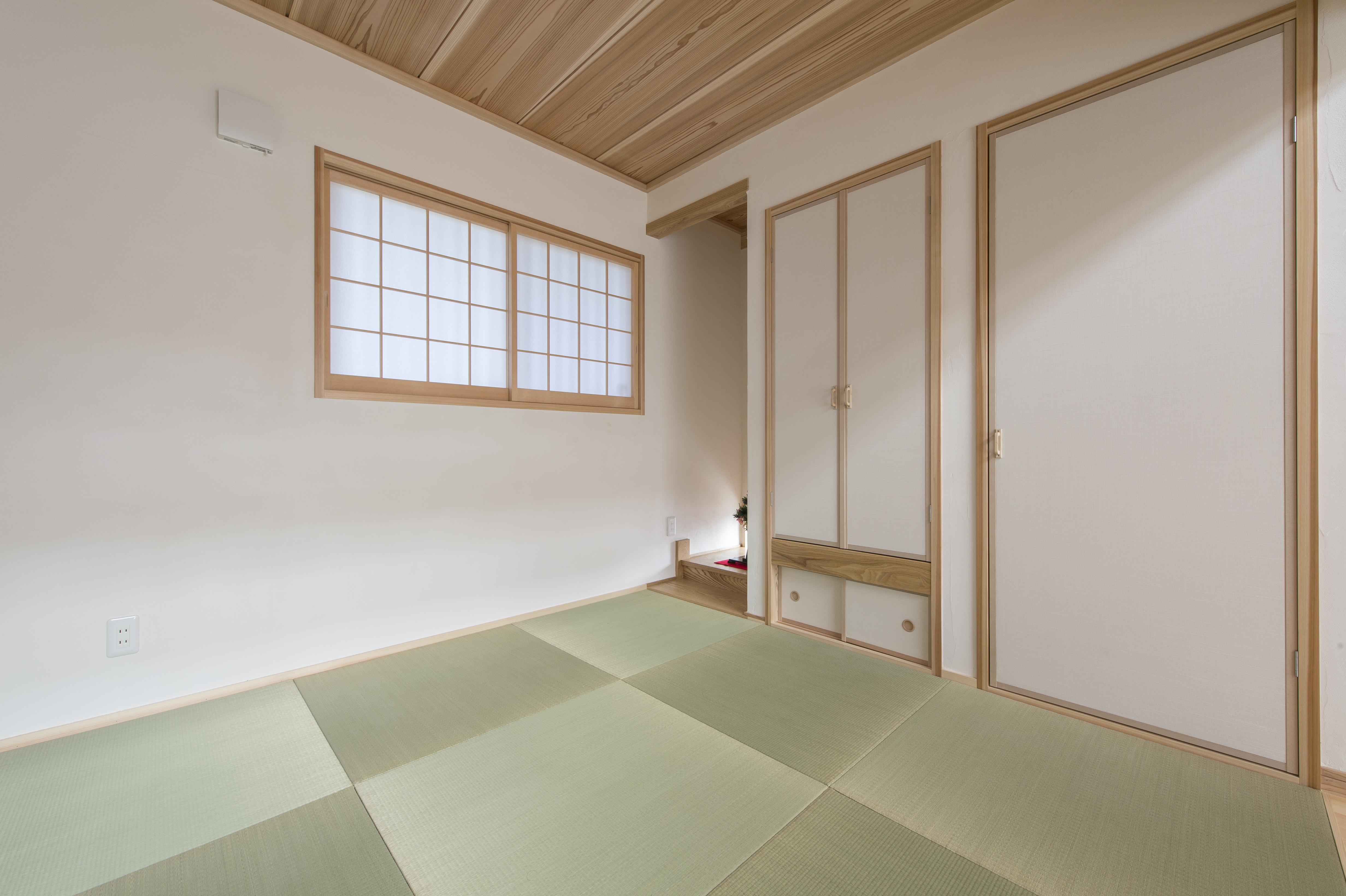 家で過ごす時間が好きだから。 木のぬくもりと「ゆるさ」のある生活_和室