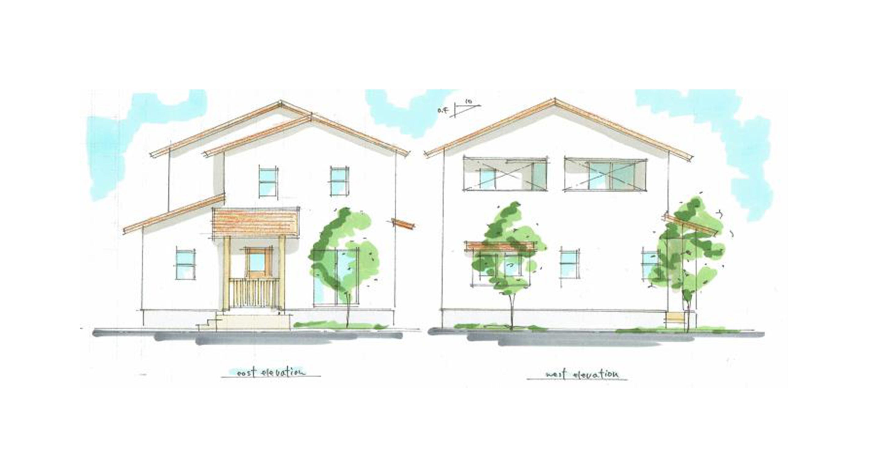完成見学会 「0宣言の家」 【シンプルモダン2階建ての家】