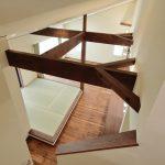 落ち着いた空間で、ゆっくりと時間の流れる南欧風の平屋のお家